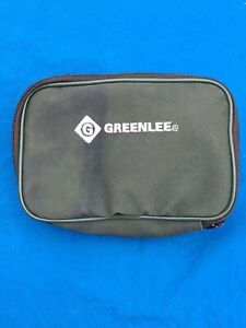 GREENLEE 2012 Circuit Tracer: 2012-T Transmitter & 2012-R Receiver - in pouch