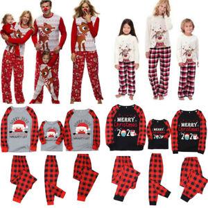 *  Nightwear Matching Pyjamas Family Baby Adult Soft Sleepwear Pjs Outfit