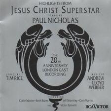JESUS CHRIST SUPERSTAR 1992 London Cast 20th Anniversary highlights CD