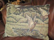 Northwoods DUCKS 16x13 Woodland Lodge Cabin Wild life Throw Pillow Rustic
