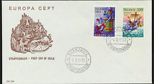 Iceland  Europa First Day Cover Cacheted Unaddressed  LOT A153