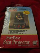 Kargo Gear Polar Fleece Baby Car Seat Protector with Storage Pockets