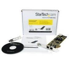 StarTech Dual Port PCI Express Gigabit Ethernet PCIe Network Card Adaptor - PoE