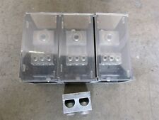 3 NSI AL-P1-K6 Modular Large Power Distribution Block    D6768