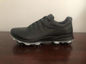 ECCO Women's Biom G3 Gore-Tex Golf Shoes Spikes Size 6-6.5 (EU 37) Black
