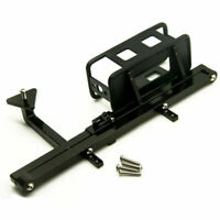 Rear Bumper Mount with Spare Tire Rack Carrier Set for 1/10 RC 4WD D90 Crawler