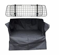 RENAULT CAPTUR (13-ON) Mesh Headrest Dog Guard + Heavy Duty Boot Liner