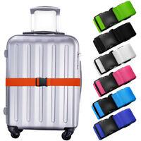 Adjustable Travel Luggage Lock Safe Belt Packing Suitcase Baggage Backpack Strap