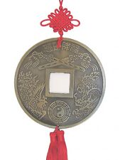 Big Chinese Good Luck Feng Shui Lucky Coin Charm