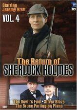 New: THE RETURN OF SHERLOCK HOLMES - Vol. 4