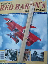 BUILD THE RED BARON'S FIGHTER PLANE FOKKER DR1  HACHETTE  ISSUE 46  NEW SEALED