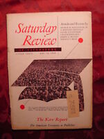 Saturday Review May 14 1949 CHESTER KERR ARTHUR SCHLESINGER