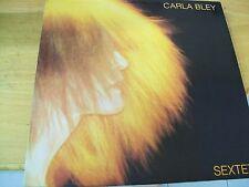 CARLA BLEY SEXTET LP MINT--
