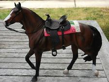 SALE Breyer-Peter Stone LSQ cross-stitched western Saddle Blanket Pad accessory