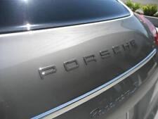 "OEM Porsche Emblem ""P O R S C H E"" in Chrome 17"" x 1"" Decklid"