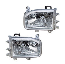 Fits 12/98-04 NISSAN PATHFINDER HEADLIGHTS FRONT LAMPS PAIR SET