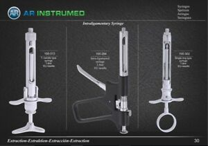 Dental Syringe 2.2 Self Aspirating CW Type Intraligamentary TGA Reg AR-INSTRUMED