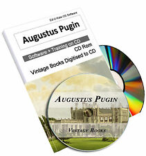 215 Augustus Pugin Vintage Books Gothic Architecture Charles Welby Christian CD