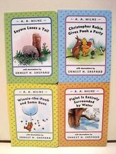 Winnie the Pooh Classics Books by A.A. Milne, Lot of 4 Books