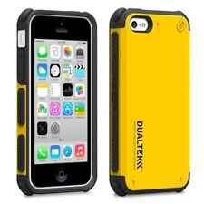 For Apple iPhone 5C Phone Case Cover Yellow Black Hybrid Shockproof Rubber Shell