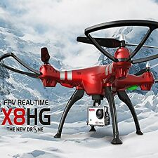 Syma X8HG RC Drones w/ 8MP HD Camera Altitude Hold 4CH Quadcopter upgraded X8G