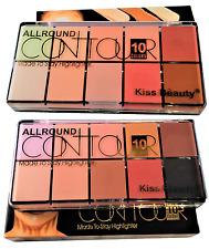 10 Colours Face Makeup Foundation Correction Cream Contour Highlight Concealer K Shade 2 Only