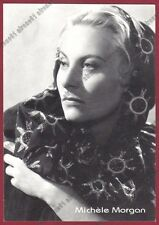 MICHELE MORGAN 10 ATTRICE ACTRESS ACTRICE CINEMA MOVIE FRANCE Cartolina