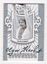 2013 Sport Kings Authentic Autograph Olga Korbut Olympic Gymnastics  /50*