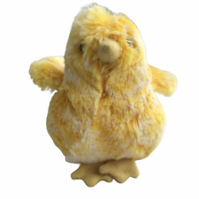DOUGLAS Easter Small Plush Soft Toy Stuffed Animal Yellow Chick 4 Inches