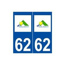 62 Saint-Martin-Boulogne logo autocollant plaque stickers ville
