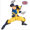 Marvel Wolverine Revoltech Logan PVC Action Figure Collectible Model Toys