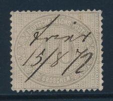 Ungeprüfte Briefmarken aus dem deutschen Reich (1872-1874)