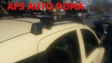 BARRE PORTATUTTO FIAT PANDA CON RAILS ANNO 2009 CON CHIAVE ANTIFURTO COLORE NERO