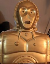 Star Wars Power of the Force Electronic Talking C-3PO Carry Case 1996 W sound +