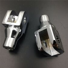Chrome Foot Pegs Connection Fittings for Honda GL1800 Suzuki Boulevard M50