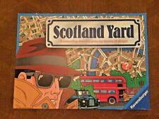 1991 Scotland Yard Board Game Strategy Hunting Mr. X Ravensburger - Opened/New