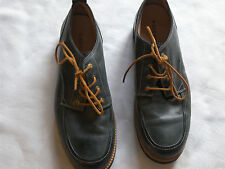 MENS FOSSIL LEATHER LACE UP SHOES SIZE NAVY SIZE 12