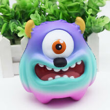 Jumbo Slow Rising Scented Squishy Squeeze Toy Stress Reliever One-eyed Monster