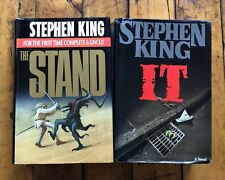 Stephen King Lot - It Hardcover - Vintage - The Stand - Early Editions