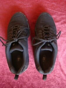 Women's Bloch Canvas Boost Dance Sneaker Split Sole Size 9.5 Black S0528L