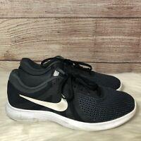 Nike Revolution 4 Running Shoes Black White Anthracite 908988-001 Men's 10.5