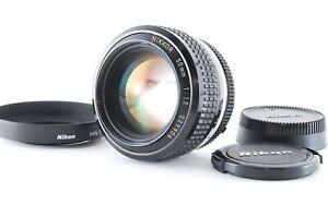 """EXC +5"" Nikon Nikkor Ai 50mm f/1.2 Standard MF Lens + HN-1 Hood From Japan 0432"