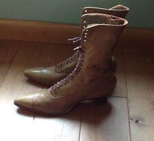 Rich's Famous Julia Marlowe Shoe Vintage Victorian Edwardian lace Up Boots