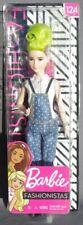 Barbie FASHIONISTAS N° 124 GREEN FLIP CURL HAIR 2018 Mattel FXL57 poupée NRFB