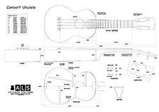 Concert Ukulele Ukulele Plan - Full Scale