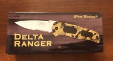 Frost Cutlery Delta Ranger 4.75 Closed Folding Pocket Knife Brand New 15-208CA
