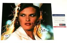VINESSA SHAW AUTOGRAPHED 8X10 COLOR PHOTO (CORKY ROMANO) PSA/DNA!