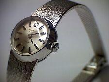 Damenuhr in Weiß-Gold 750 Certina 15-20 Mayfair automatic Swiss