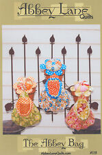 PATTERN FOR ABBEY BAG BY ABBEY LANE QUILTS~PIN CUSHION~THREAD CATCHER
