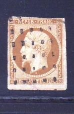 """FRANCE STAMP TIMBRE N° 9 """" NAPOLEON 10c BISRE-JAUNE """" OBLITERE A VOIR D272"""